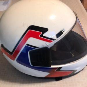 Other - Vintage motorcycle helmet size Med